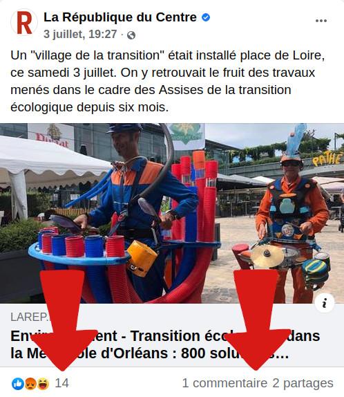 Capture publi FB La Rép'